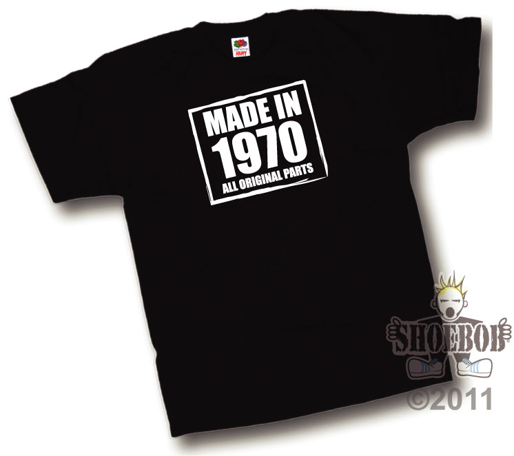 Quality Example of a Shoebob t shirt Printed in the UK by a family run business